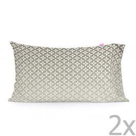 Sada 2 bavlněných povlaků na polštář Happy Friday Embroidery,50x75cm