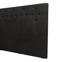 Černé čelo postele Windsor & Co Sofas Phobos, 140 x 120 cm