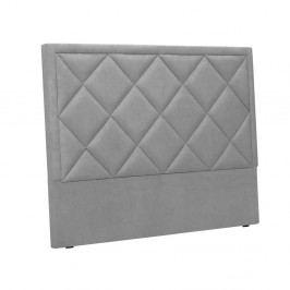 Světle šedé čelo postele Windsor & Co Sofas Superb, 200 x 120 cm