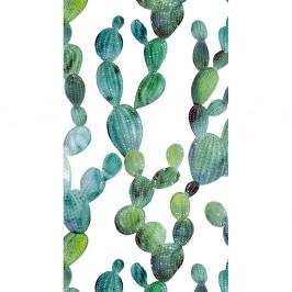 Plážová osuška s potiskem Good Morning Cactus, 100 x 180 cm