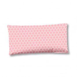 Růžový povlak na polštář z bavlněného saténu HIP Milika, 40x80cm