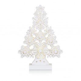 Bílá svítící dekorace Markslöjd Prince, výška 39 cm