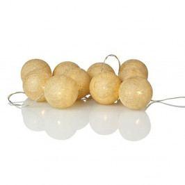 Svítící LED řetěz Markslöjd Twix Cream