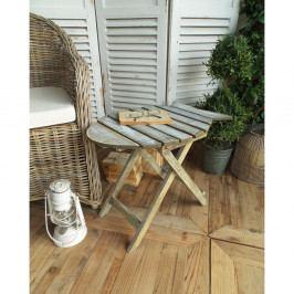 Dřevěný rozkládací stolek Orchidea Milano Vintage Finish