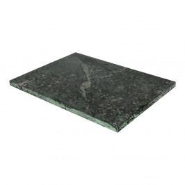 Zelené krájecí prkénko z mramoru Strömshaga, 30 x 40 cm