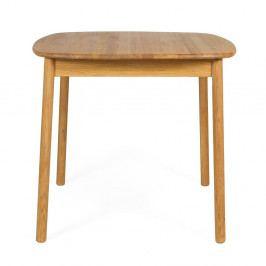 Jídelní stůl z olejovaného dubového dřeva Askala Naos, 85x85cm