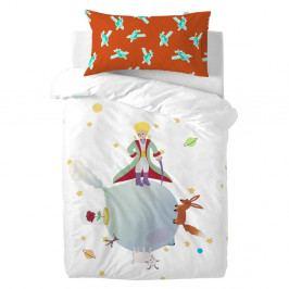 Dětské bavlněné povlečení na peřinu a polštář Mr. Fox Little Prince, 115x145cm