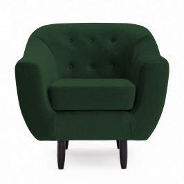 Zelené křeslo Vivonita Laurel Emerald