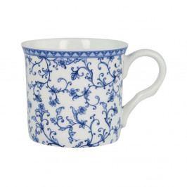Hrnek z kostního porcelánu Ashdene Indigo Blue Scroll, 260ml