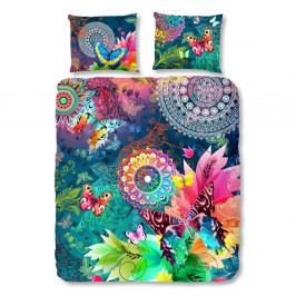 Povlečení na dvoulůžko z bavlněného saténu Muller Textiels Parada, 200 x 200 cm
