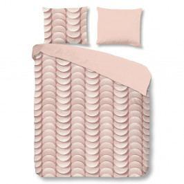 Růžové povlečení z bavlny na dvoulůžko Good Morning Emerged,200x240 cm