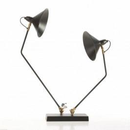 Černá stolní lampa Thai Natura