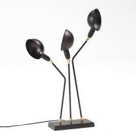 Černá stolní lampa Thai Natura Laas