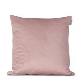 Růžový povlak na polštář HF Living Velvet, 45x45cm