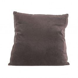 Hnědý bavlněný polštář PT LIVING, 60 x 60 cm