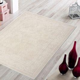 Krémový odolný koberec Vitaus Primrose, 140x200cm