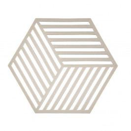 Podložka pod horké nádoby Zone Hexagon, světle šedá