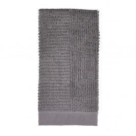 Šedý ručník Zone One,50x100cm