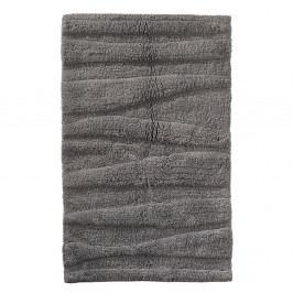 Šedá koupelnová předložka Zone Flow, 50x80cm