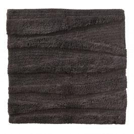 Antracitová koupelnová předložka Zone Flow, 65x65cm