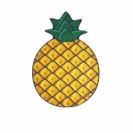 Plážová deka ve tvaru ananasu Big Mouth Inc., 172x122cm