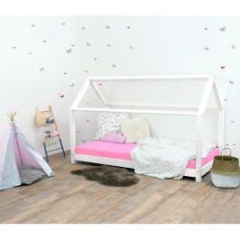 Bílá dětská postel ze smrkového dřeva Benlemi Tery, 90x190cm