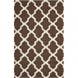 Vlněný koberec Safavieh Ava 152x243 cm, hnědý
