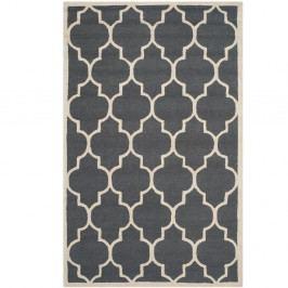 Vlněný koberec Everly 121x182 cm, tmavě šedý