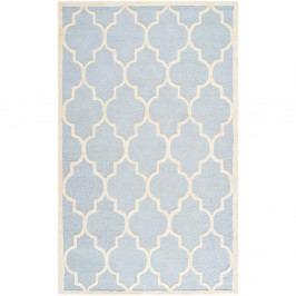 Vlněný koberec Safavieh Lola, 182x274 cm, světle modrý