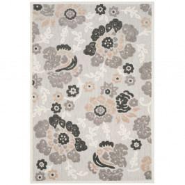 Šedý koberec vhodný i na venkovní použití Safavieh Oxford, 160x231cm