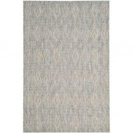 Šedý koberec vhodný i na ven Safavieh Biarritz, 160 x 231cm