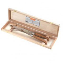 Sada 2 nožíků z nerezové oceli v úložném boxu Jean Dubost