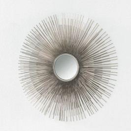 Nástěnné zrcadlo z kovu Thai Natura, Ø 80 cm