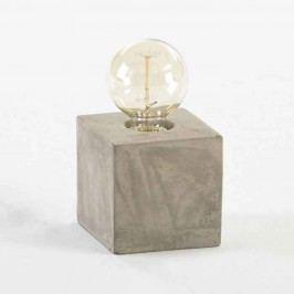 Cementová stolní lampa Thai Natura Marnix