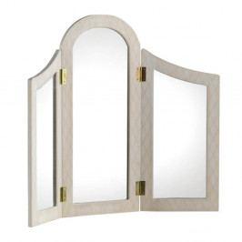 Zrcadlo v dřevěném rámu Geese Ethel
