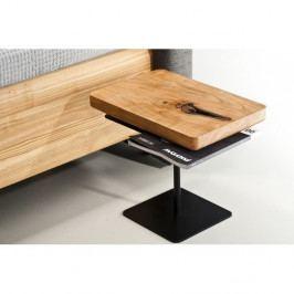 Noční stolek z olejovaného olšového dřeva Mazzivo Moon