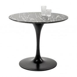 Deska jídelního stolu v ebenovém dekoru Kare Design Invitation, ⌀ 90 cm