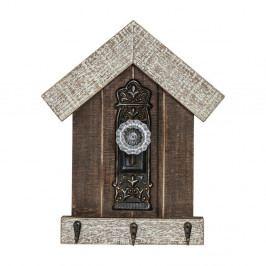 Nástěnný věšák z jedlového dřeva Kare Design Lodge