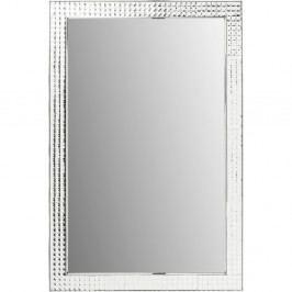 Nástěnné zrcadlo Kare Design Crystals Chrome, 120x80cm