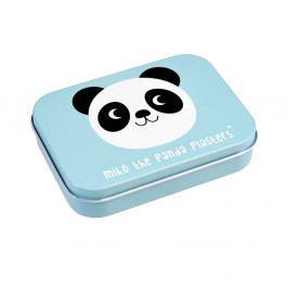 Sada 30 náplastí v plechové krabičce Rex London Miko The Panda