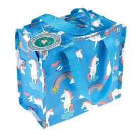 Modrá velká taška s motivem jednorožců Rex London Magical Unicorn