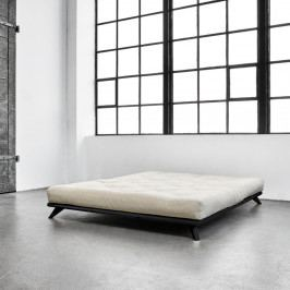 Postel Karup Design Senza Bed Black, 180 x 200 cm