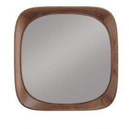 Nástěnné zrcadlo s rámem z ořechového dřeva Wewood - Portuguese Joinery Sixty's, délka70cm
