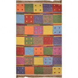 Barevný běhoun Square, 300x75 cm