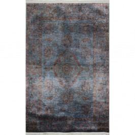 Modrošedý koberec Eco Rugs Diane, 120x180cm