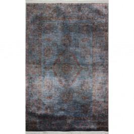 Modrošedý běhoun Eco Rugs Diane, 75x300cm