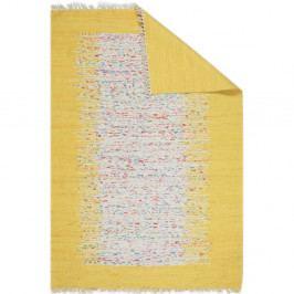 Žlutý běhoun Eco Rugs Yolk, 80x300cm