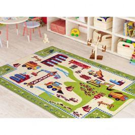 Dětský koberec Construction,133x190cm