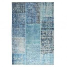 Modrý koberec Eko Rugs Esinam, 75x150cm