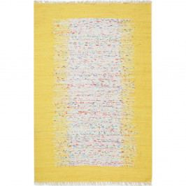 Žlutý koberec Eco Rugs Yolk, 80x150cm